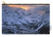 Sunset Over Mueller Glacier Lake Carry-all Pouch