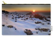 sunset over National park Sierra Nevada Carry-all Pouch