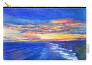 Sunset Over Point Lonsdale As Viewed From Cape Schanck  Carry-all Pouch