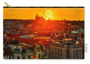 Sunset Over Prague Carry-all Pouch