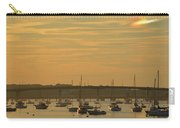 Sunset Over Salem Harbor Carry-all Pouch