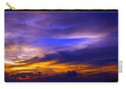 Sunset Over Sea Carry-all Pouch