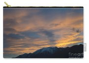 Sunset Over The Alps Carry-all Pouch
