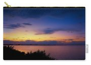 Sunset Over The Causeway Carry-all Pouch