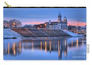 Sunset Over The Clinton County Courthouse Carry-all Pouch