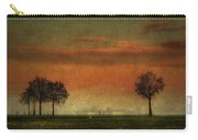 Sunset Over The Country Carry-all Pouch