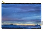 Sunset Over The European Alps Carry-all Pouch