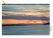 Sunset Over The Golden Gate Carry-all Pouch