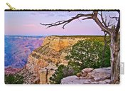 Sunset Over The Grand Canyon From South Rim Trail In Grand Canyon National Park-arizona   Carry-all Pouch