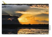 Sunset Over The Mead Wildlife Area Carry-all Pouch