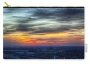 Sunset Over The Metro Carry-all Pouch