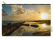 Sunset Over The Ocean II Carry-all Pouch by Marco Oliveira