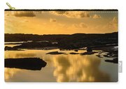 Sunset Over The Ocean V Carry-all Pouch by Marco Oliveira