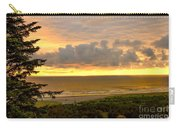 Sunset Over The Pacific Ocean Carry-all Pouch