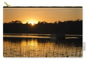 Sunset Over The Pontoon 4 Carry-all Pouch