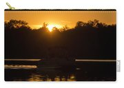 Sunset Over The Pontoon Carry-all Pouch