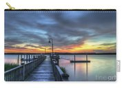 Sunset Over The River Carry-all Pouch