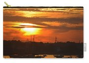 Sunset Over The Salem Willows Carry-all Pouch