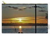 Sunset Over The Solent Carry-all Pouch