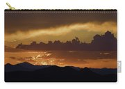 Sunset Over The Tucson Mountains Carry-all Pouch