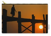 Sunset Over The U Bein Foot Bridge Carry-all Pouch