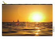 Sunset Over The Water In Waikiki Carry-all Pouch