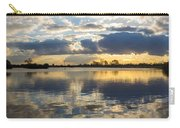 Sunset Over The Water Carry-all Pouch