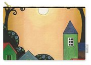 Sunset Over Town Carry-all Pouch