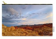 Sunset Over Valley Of Fire State Park In Nevada Carry-all Pouch