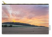 Sunset Over Wheat Carry-all Pouch