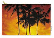 Sunset Palms Carry-all Pouch