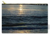 Sunset Pier Carry-all Pouch by Carey Chen
