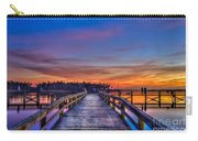 Sunset Pier Fishing Carry-all Pouch