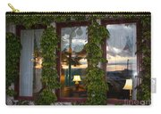 Sunset Reflection On Empress Window Carry-all Pouch