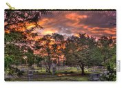 Sunset Reflections And Life Carry-all Pouch