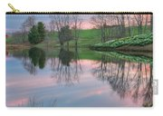 Sunset Reflections Square Carry-all Pouch