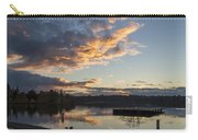 Sunset Ripples In Time Carry-all Pouch
