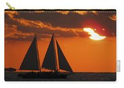 Key West Sunset Sail 3 Carry-all Pouch