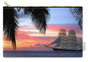 Sunset Sailboat Filtered Carry-all Pouch