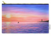 Sailing Toward The Lighthouse Carry-all Pouch