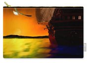 Sunset Sails Carry-all Pouch by Lourry Legarde