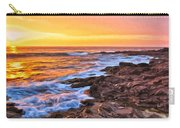 Sunset Shore Break Carry-all Pouch