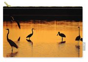 Sunset Silhouette Carry-all Pouch by Al Powell Photography USA