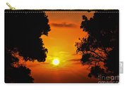 Sunset Silhouette By Diana Sainz Carry-all Pouch