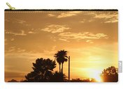 Sunset Sillouette Carry-all Pouch