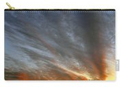 Sunset Sky With Cirrocumulus Clouds Usa Carry-all Pouch