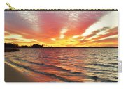 Sunset Streaks Carry-all Pouch