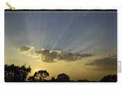 Sunset Sunrays Carry-all Pouch