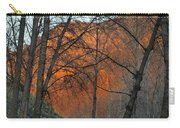 Sunset Through The Forest Carry-all Pouch