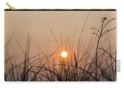 Sunset Through The Grass - Villas New Jersey Carry-all Pouch by Bill Cannon